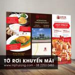 Mẫu tờ rơi khuyến mãi giá rẻ tại Hồ Chí Minh